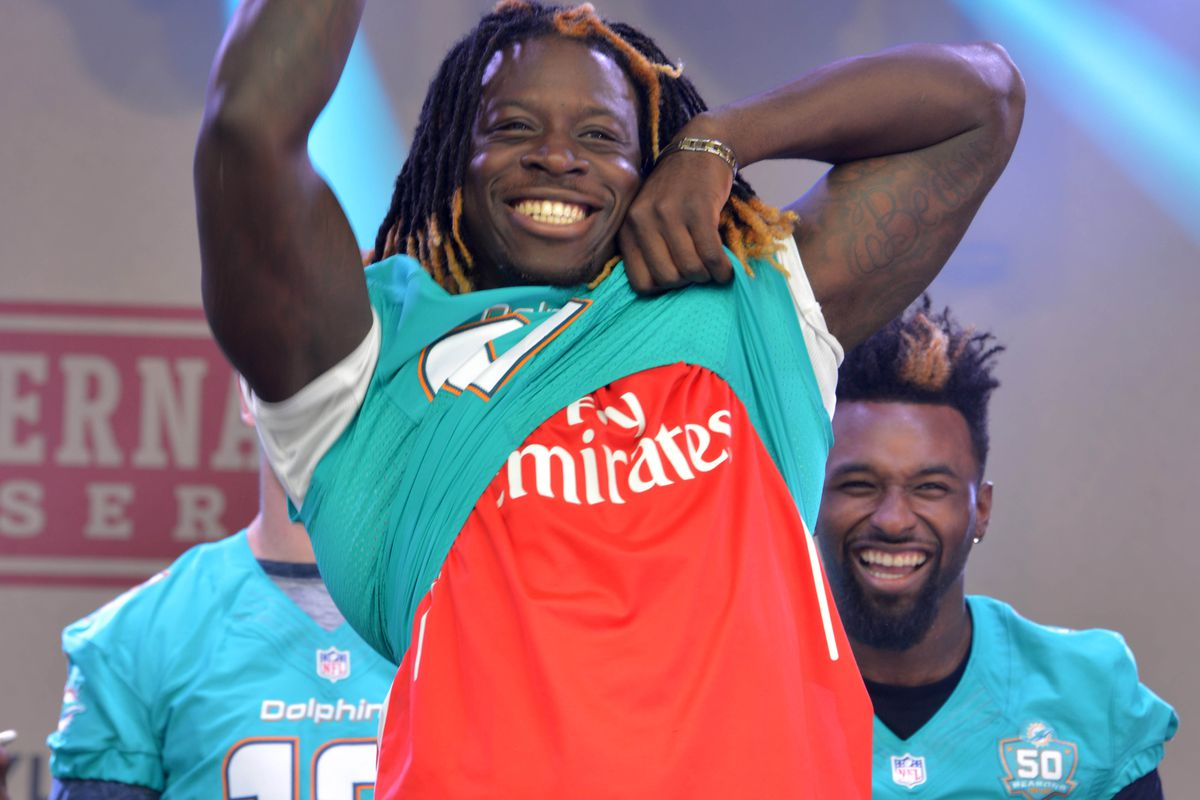 Miami Dolphins running back Jay Ajayi is an Arsenal fan and so should you