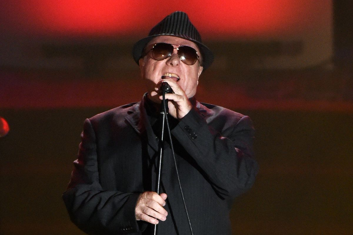 Van Morrison performs at the 46th annual Songwriters Hall of Fame Induction and Awards Gala in New York in 2015.