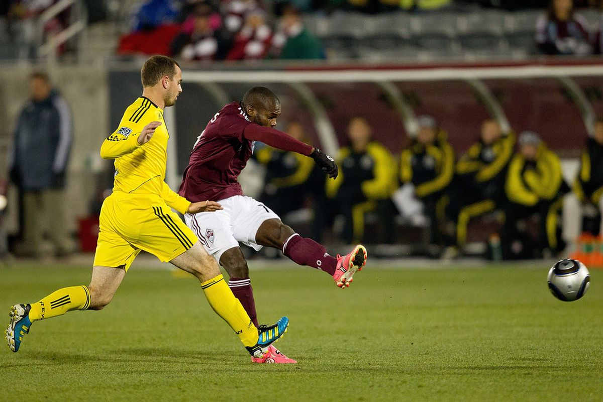 Watch for Omar Cummings, who has scored in two straight games against the Crew.