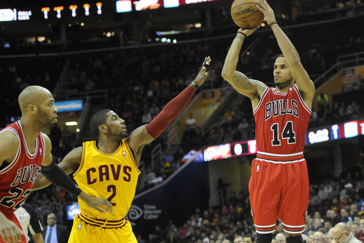 0e735fa06c6 Final score: Cleveland Cavaliers fall at home to shorthanded Chicago Bulls,  98-87