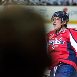 Ovechkin Celebrating His First of the Night
