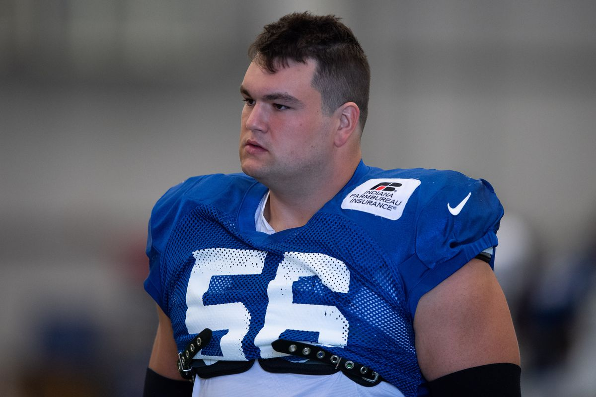 NFL: AUG 18 Colts Training Camp