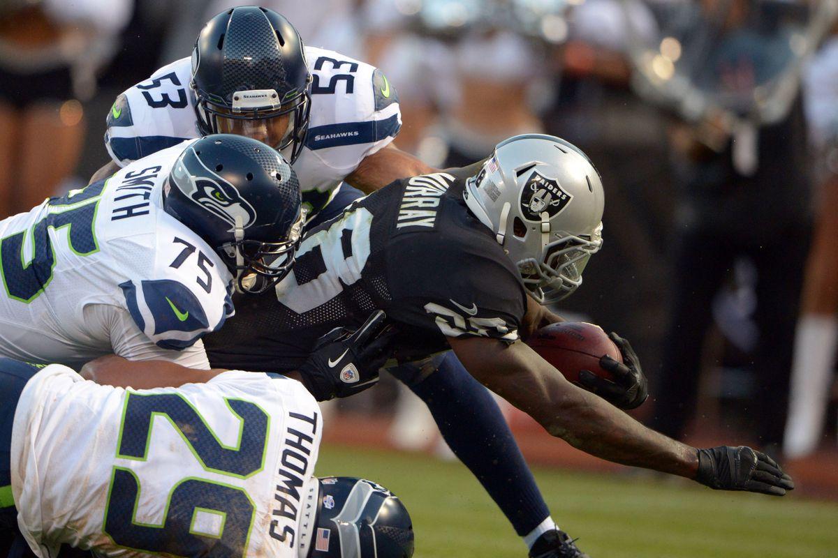 Raiders vs Seahawks final: Carr puts on a show