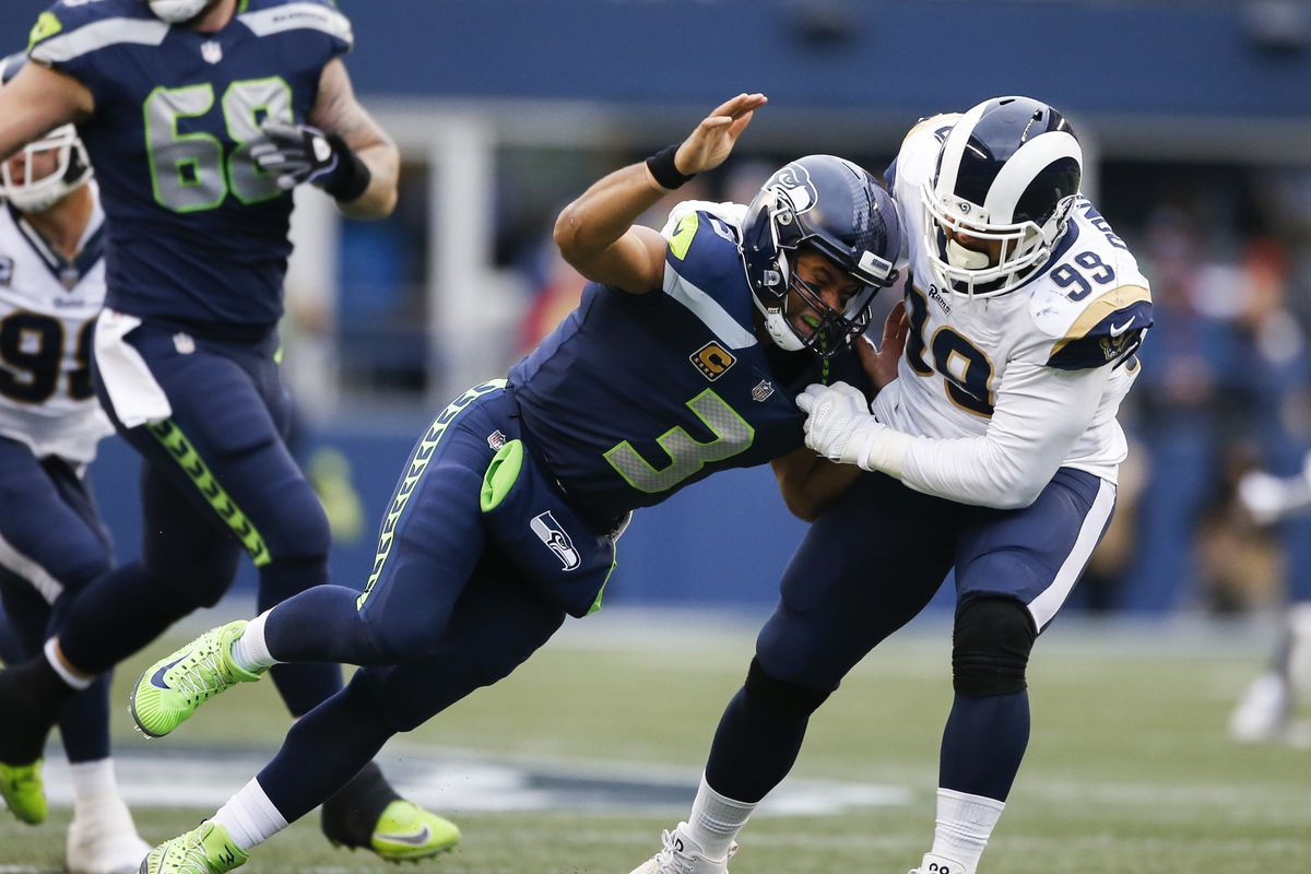 bc50982d949 Are the LA Rams going to eventually trade Aaron Donald? - Niners Nation