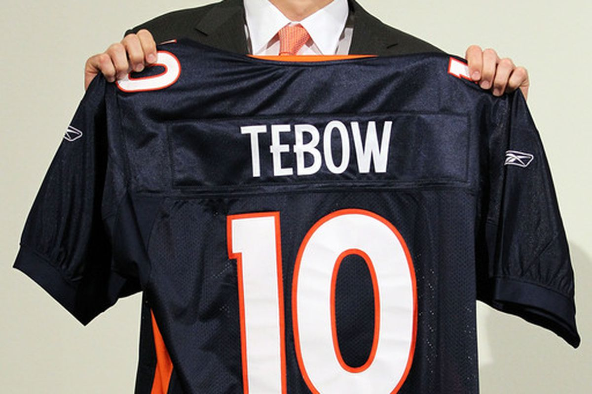 Is Tim Tebow one of the most popular athletes in Denver right now?