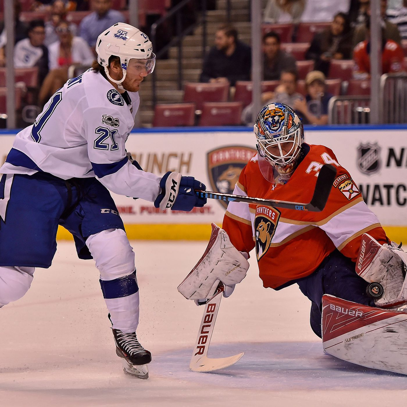 Tampa Bay Lightning At Florida Panthers Preview A Tale Of Two Teams
