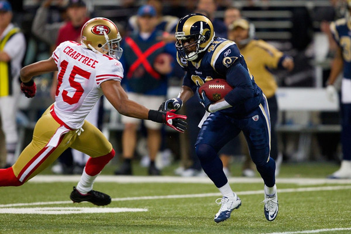 Would St. Louis bring back Atogwe, like they did Isaac Bruce in 2006? Or will he end up playing somewhere else next year...if there is a next year?