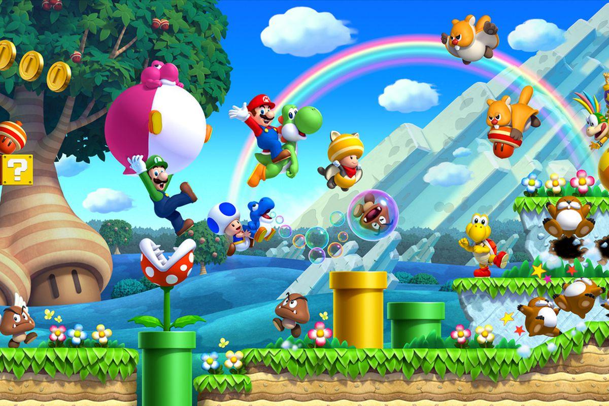 New Super Mario Bros U To Receive Wii U Pro Controller Support