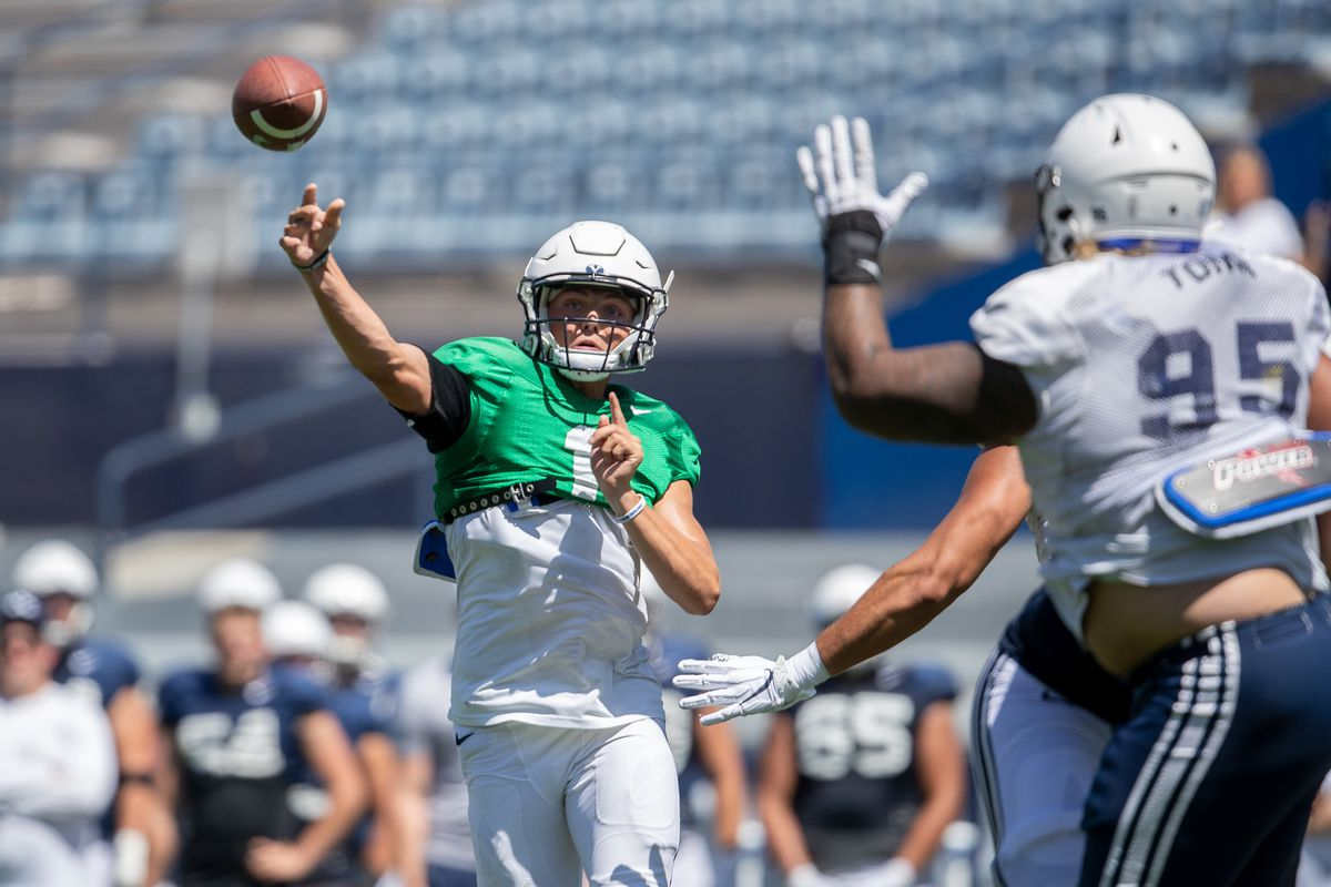 Sophomore QB Zach Wilson says he's '100% ready' as BYU ...