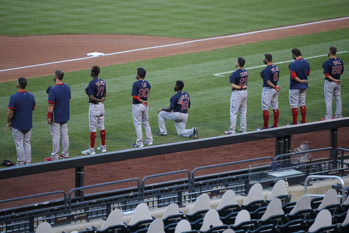 MLB: Boston Red Sox at New York Mets