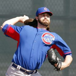 Brian Schlitter, rocking the James Russell-style hair