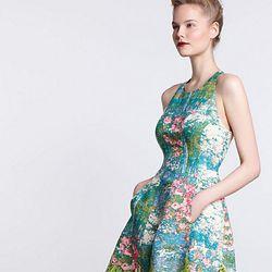 Revisited Impressionist Dress, $298