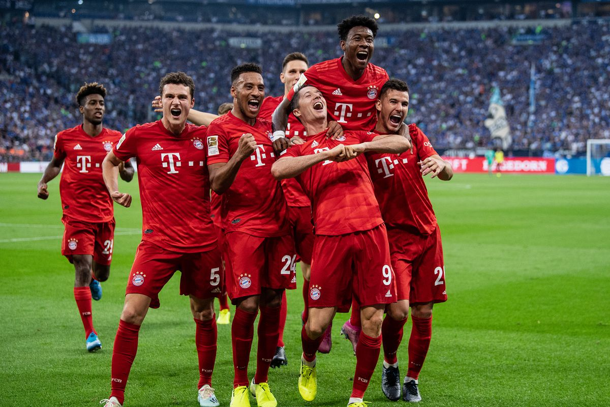 Bayern Munich S Bundesliga Schedule Is Ideal For Its Champions League Campaign Bavarian Football Works