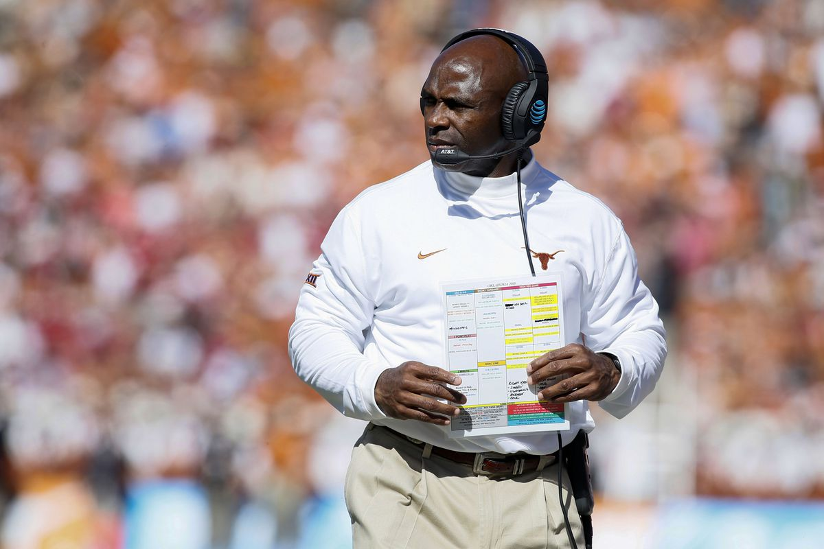 Some Thoughts On Charlie Strong And His Future At Texas Burnt