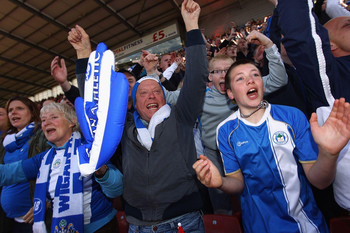 Royal Blue, Loyal Latics Fans!