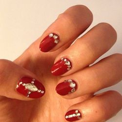 """Red with Crystals by <a href=""""http://instagram.com/jeanniev"""">Jeannie Vincent</a>"""