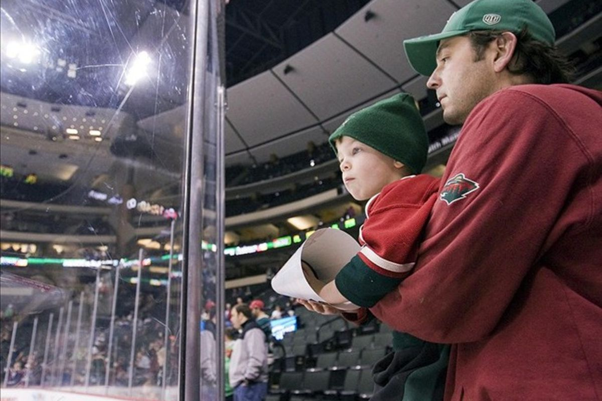 Wild should start cutting guys like this a deal.   Mandatory Credit: Marilyn Indahl-US PRESSWIRE