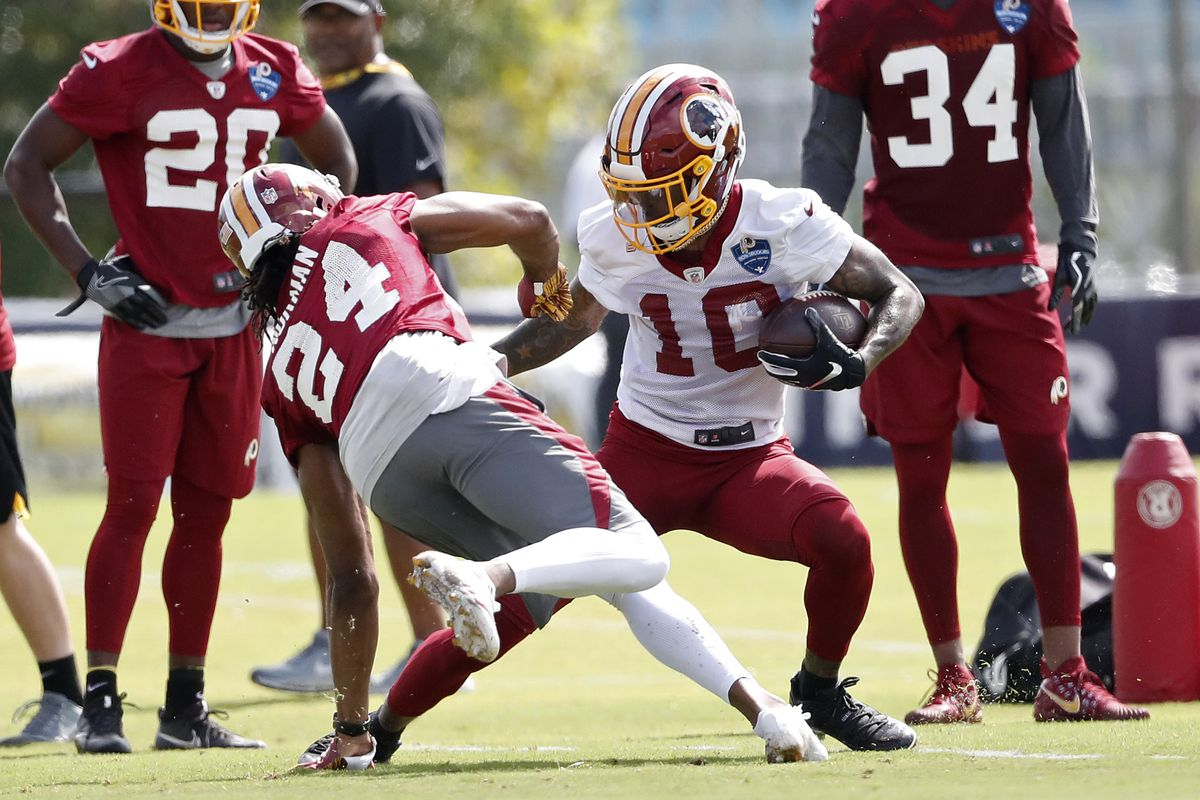 Washington Redskins Training Camp Day 2 live updates - Hogs Haven 78353d4bc