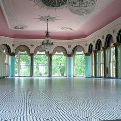 """Michelle and Barack Obama held their wedding reception at the <a href=""""http://www.chicagoparkdistrict.com/parks/South-Shore-Cultural-Center/#.U5m9Ay8WcVc"""">South Shore Cultural Center</a> [7059 South Shore Drive], an architectural gem in Hyde Park. A forme"""