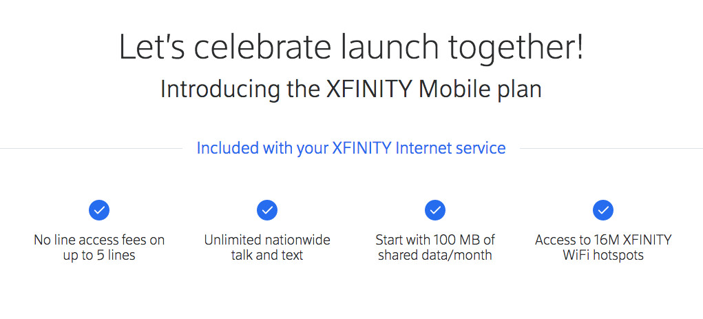 Comcast Has Started Launching Its Xfinity Mobile Phone Service The Verge