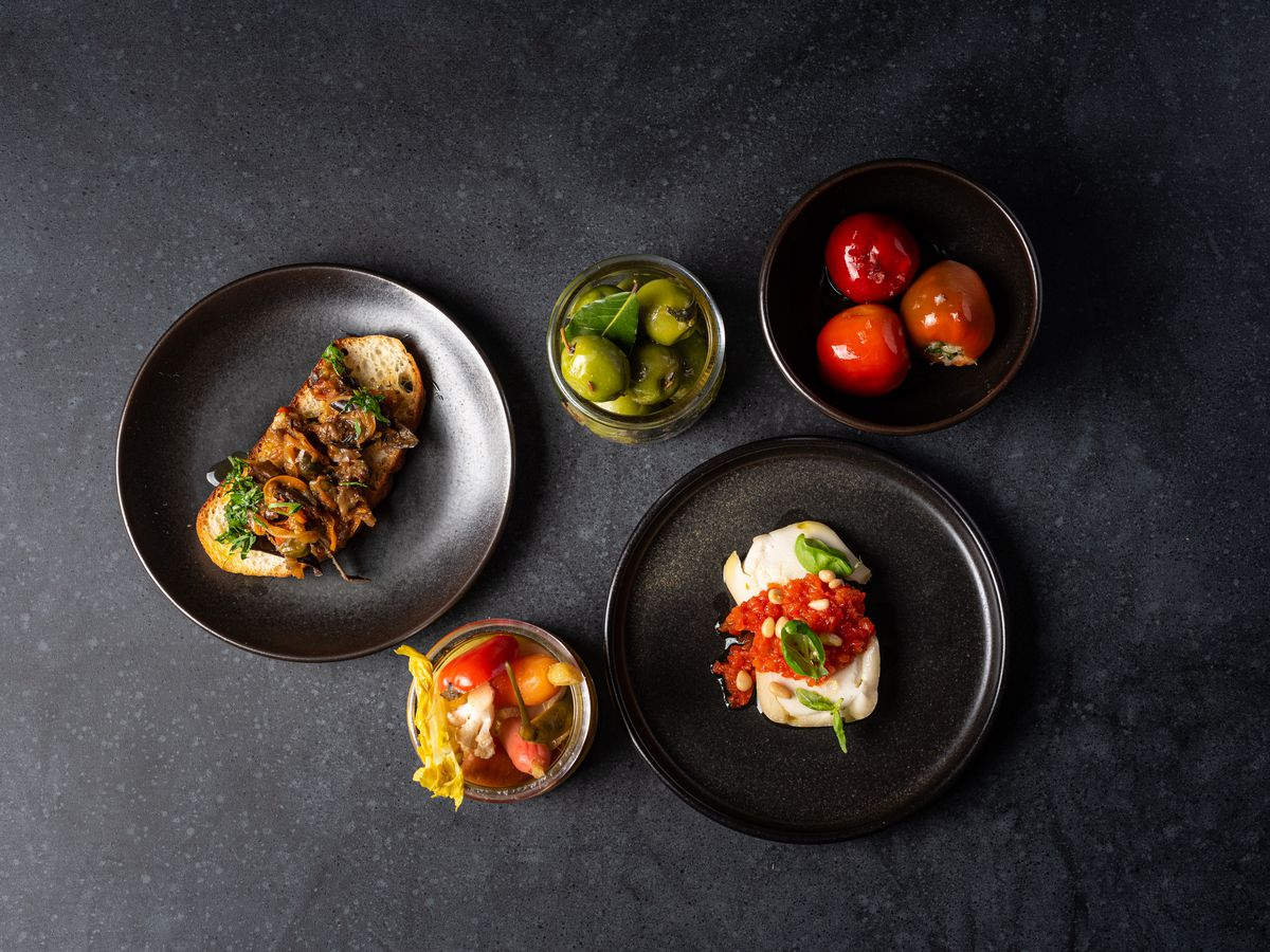 Vegan Italian food from Baia