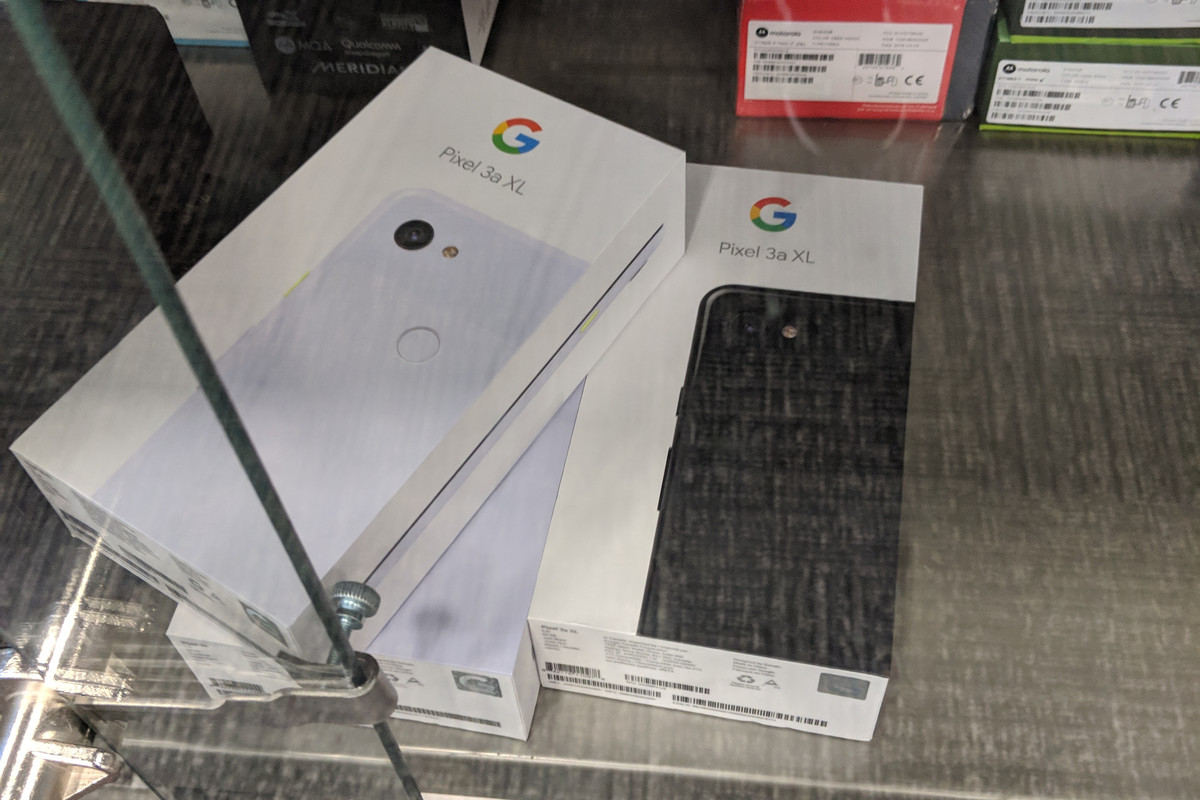 best service 3f729 b3a9a Pixel 3A leaks at Best Buy, confirming 6-inch screen for XL model ...