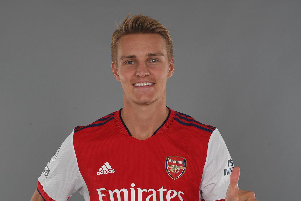 Arsenal Unveil New Signing Martin Odegaard