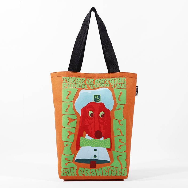 Rickshaw Bags Doggie Diner Tote for Eater SF
