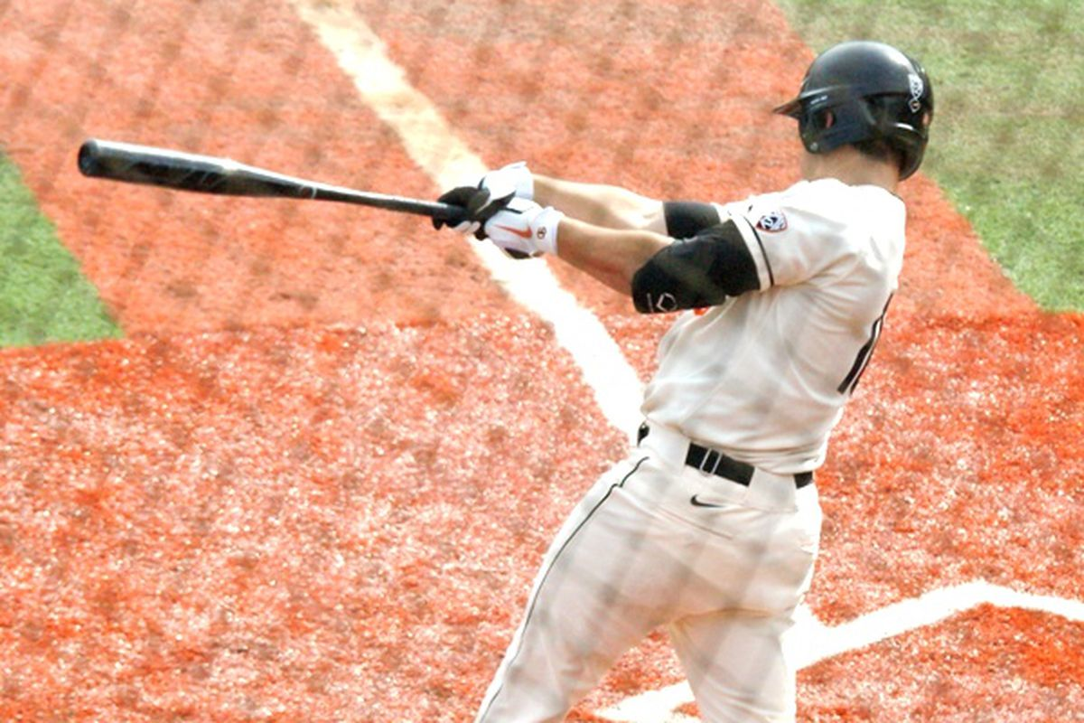 Dylan Davis got his season rolling, with 2 hits, 3 RBIs, and a run scored, for the Beavers in Oregon St.'s 14-3 romp over UC-Riverside.