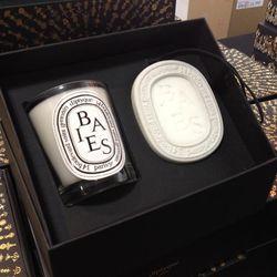 Baies candle oval set, $49