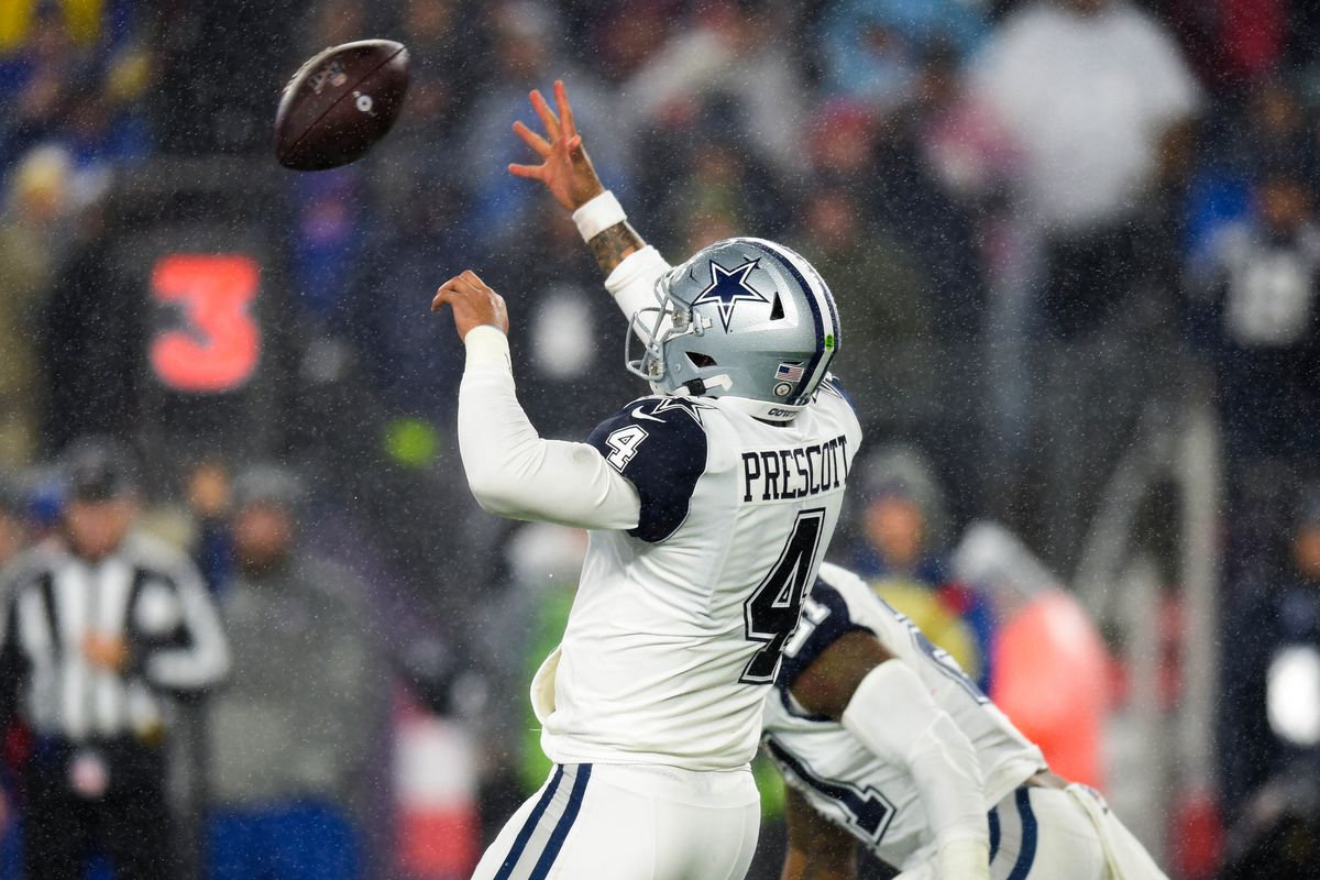 Nfl Playoff Picture Cowboys Loss To Patriots Keeps Eagles