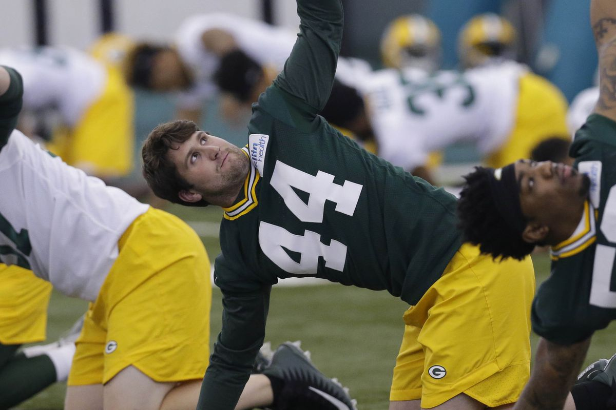 9a91fe5b9 Who is new Packers linebacker Greer Martini  A Q A with One Foot Down