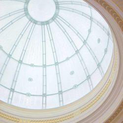 Ogden Utah Temple dome in celestial room.
