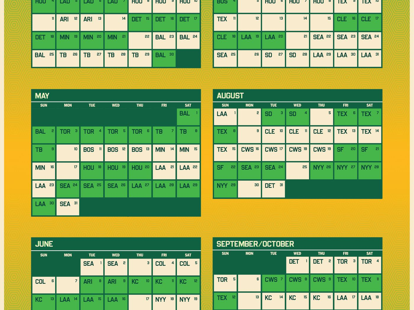 Oakland A's release 2021 schedule   Athletics Nation