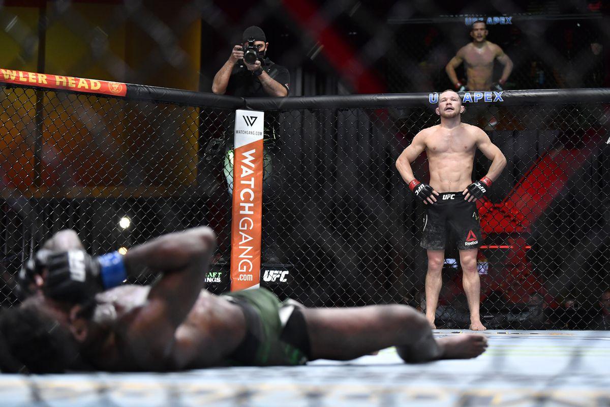 UFC 259: Yan v Sterling