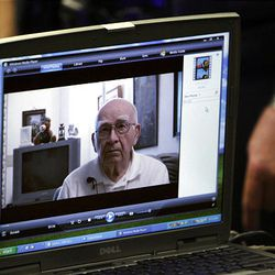 Joseph Burdell Jr., Michael Burdell's father, is shown in a video saying Ronnie Lee Gardner should not be executed.