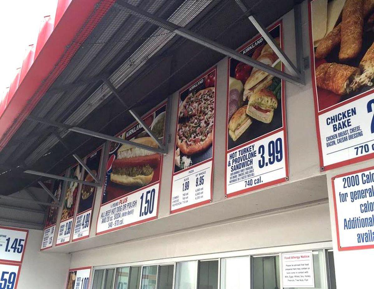 Costco Sandwiches Food Court