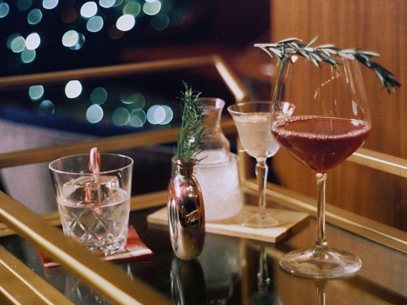 Walker Inn's Scoundrel cocktails