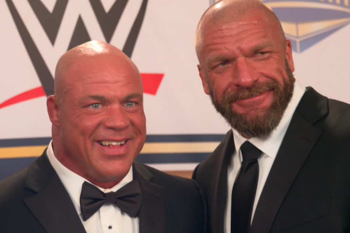 From the WWE Rumor Mill: Kurt Angle could eventually face Triple H