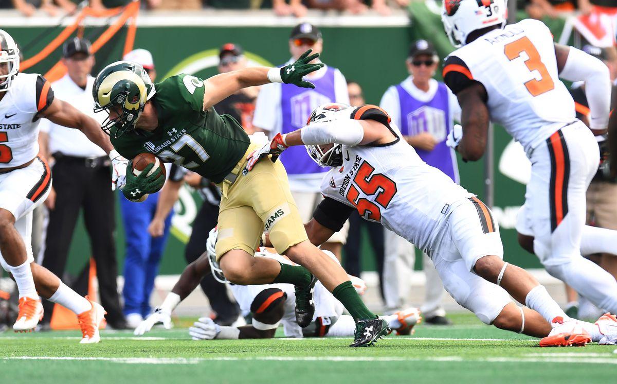 NCAA Football: Oregon State at Colorado State