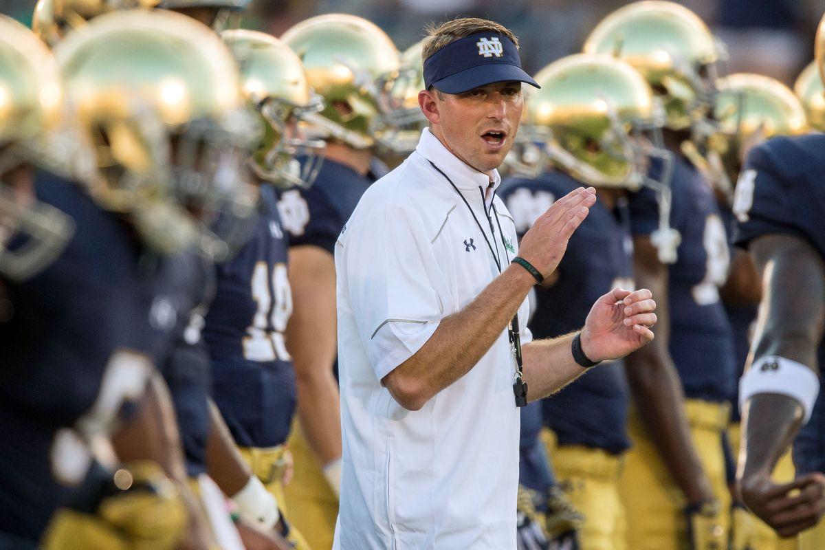 NCAA Football: Texas at Notre Dame