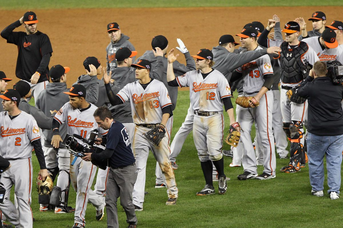 Forget about the ALDS. ESPN: The Mag puts the Orioles in the World Series