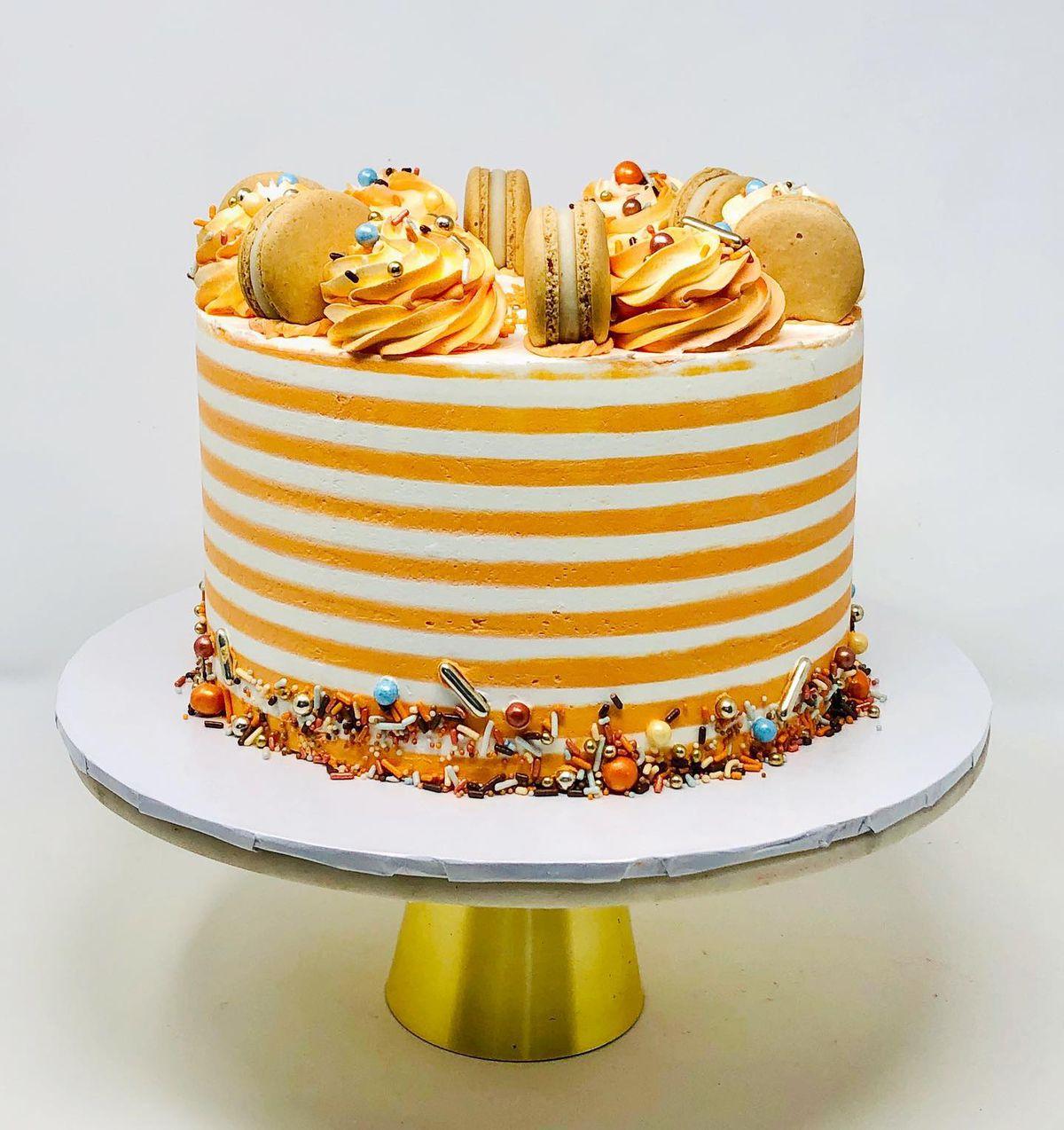 A cake from Rocheli Patisserie