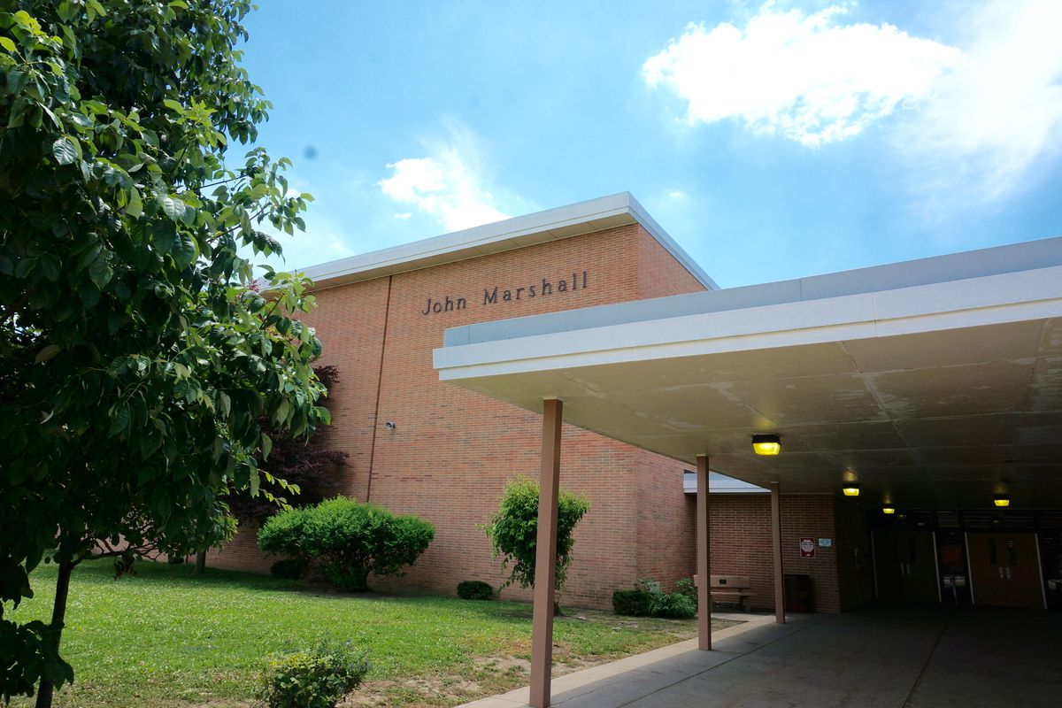 John Marshall Middle School.