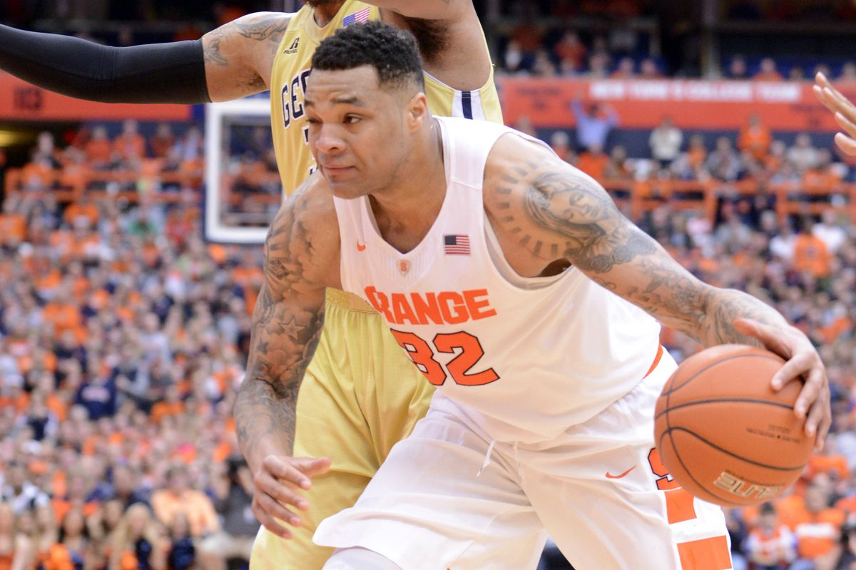Syracuse Basketball Dajuan Coleman Taking Advantage Of Rehab Free