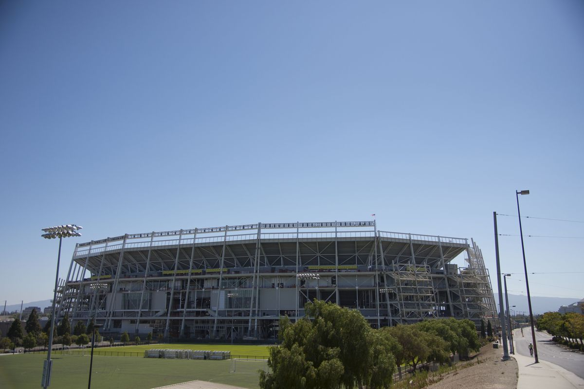 Levis Stadium Capacity >> 49ers to open 3 training camp practices to public - Niners ...