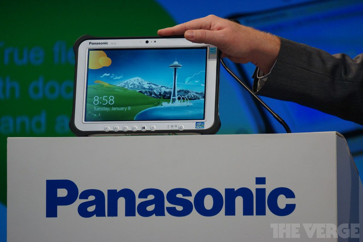 Panasonic Reveals Toughpad Fz G1 The World S Thinnest