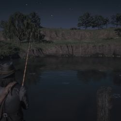 RDR2 Legendary Redfin Pickerel maps and location