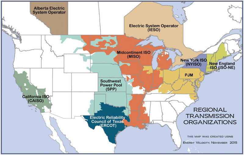 ferc-rto-map.0 California's huge energy decision: link its grid to its neighbors, or stay autonomous?