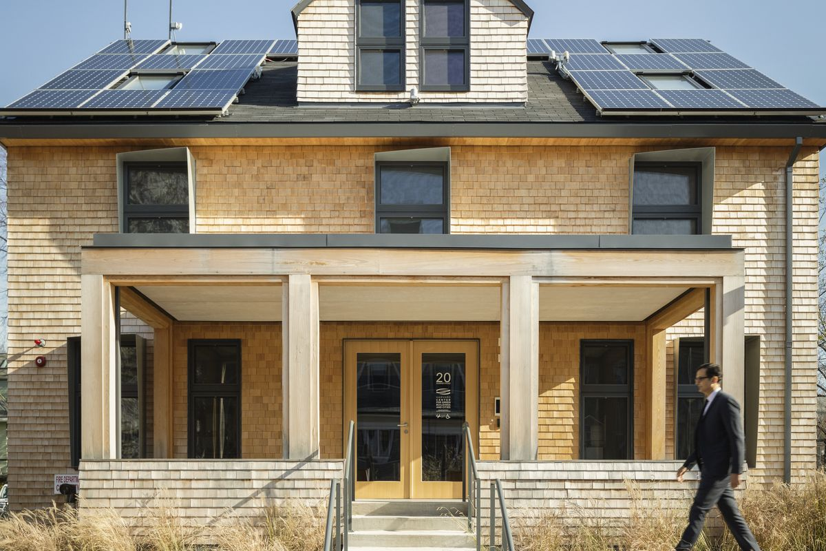 The HouseZero project at Harvard retrofitted a pre-war home on campus, creating a model of energy efficiency.